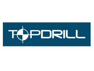 Topdrill logo with border
