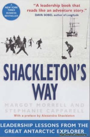 Book reviews Shackleton's Way