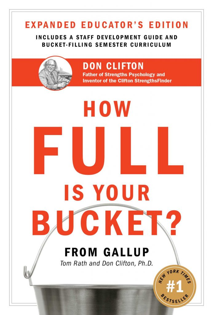 Book reviews how full is your bucket