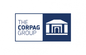 Corpag logo with border